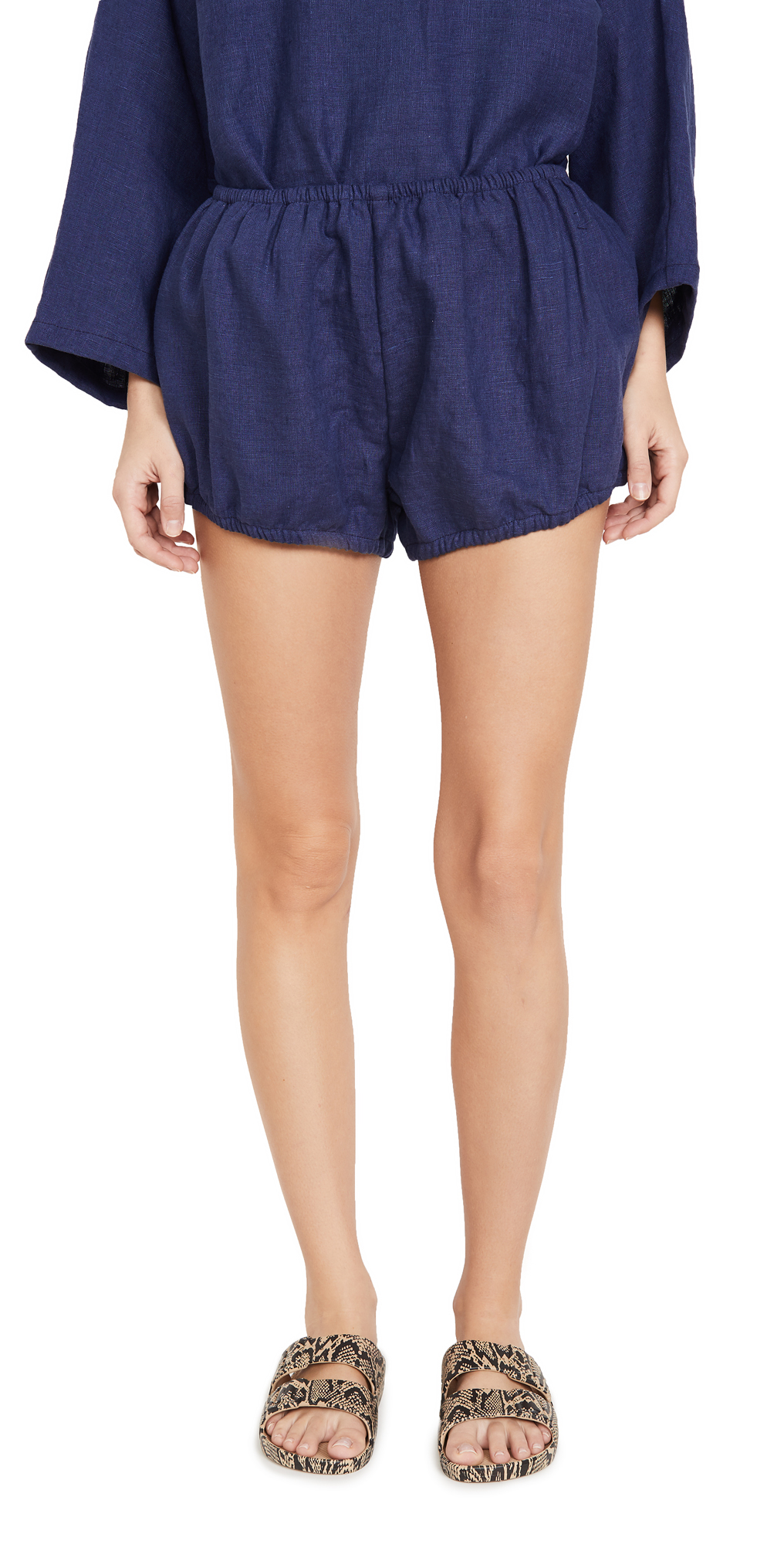 Linen Bloomer Shorts