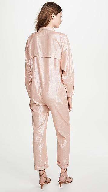 Kondi 金属色连身衣