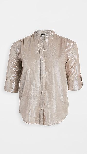 Kondi 金属元素女式衬衫