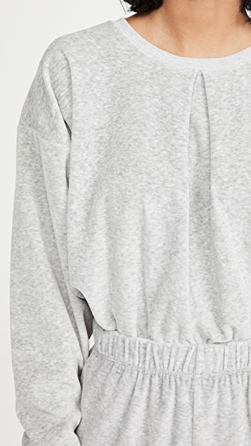 Kondi Front Pleat Sweatshirt
