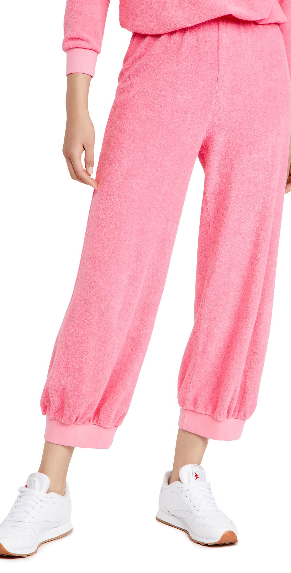 Terry High Waist Sweatpants