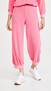 Kondi 毛圈布高腰运动裤