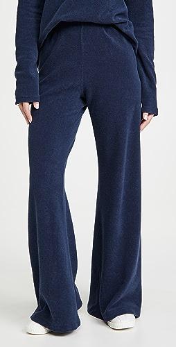 Kondi - 毛圈布阔腿裤
