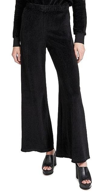 Kondi Velour Flare Pants