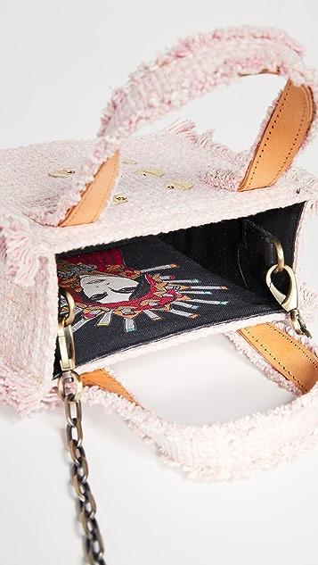 Kooreloo Объемная сумка с короткими ручками Epiphany