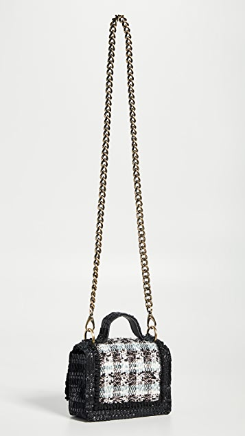 Kooreloo Petite Manhattan Tweed Shoulder Bag