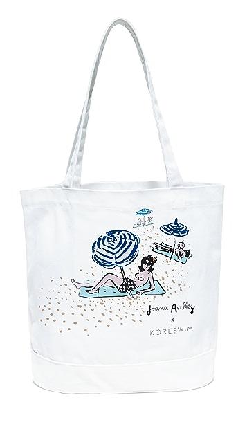 KORE SWIM Canvas Tote Bag