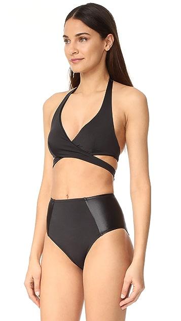 KORE SWIM Pandora Wrap Bikini Top