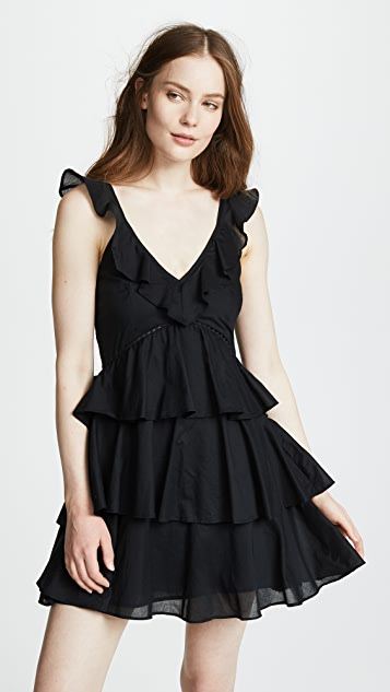 Kos Resort Tiered Mini Dress