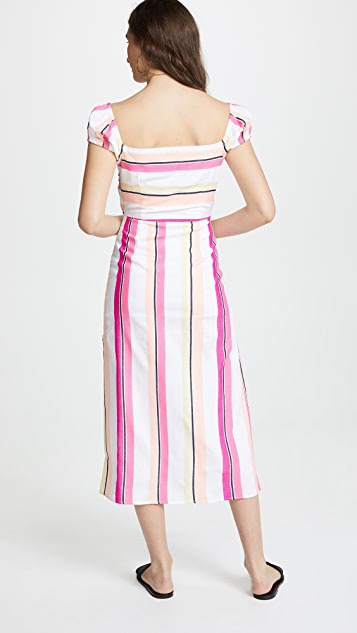 Kos Resort Tie Top & Maxi Skirt Set