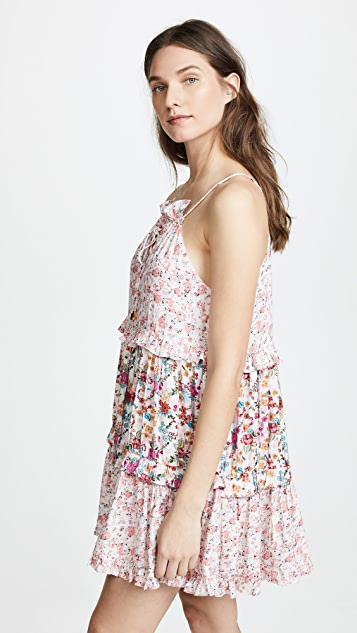 Kos Resort Lace Halter Dress