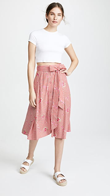 Kos Resort Tie Front Skirt
