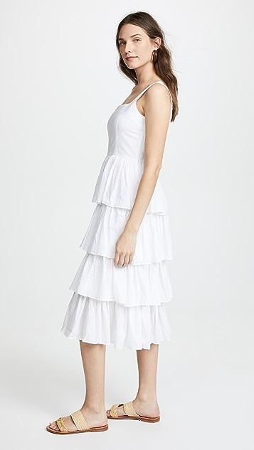 Kos Resort Tiered Dress