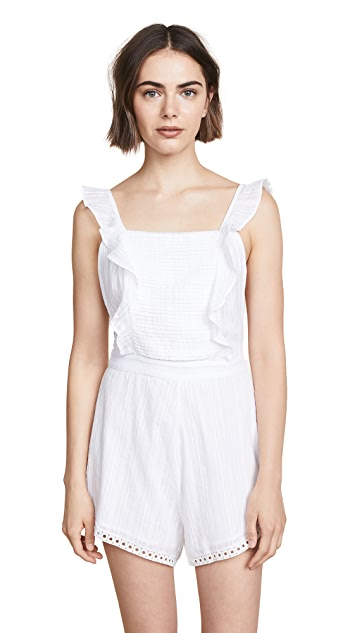 Kos Resort Sleeveless Romper
