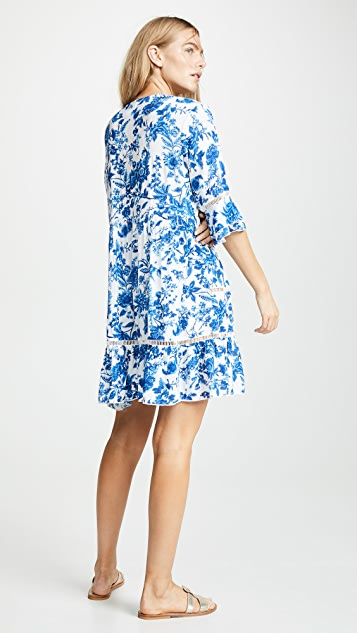 Kos Resort Floral Dress