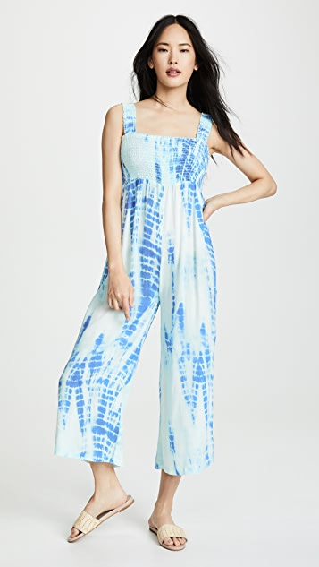 Kos Resort Sleeveless Jumpsuit