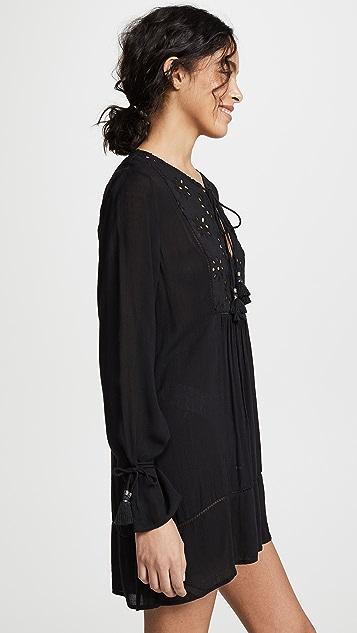 Kos Resort Платье-туника с прорезями