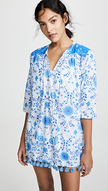 Floral Tunic Dress by Kos Resort