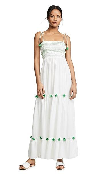 Kos Resort Платье с помпонами