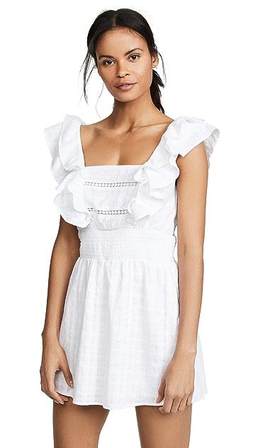 Kos Resort Белое платье с прорезями
