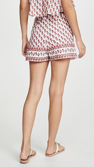 Kos Resort Printed Shorts