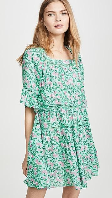 Kos Resort Floral Dress