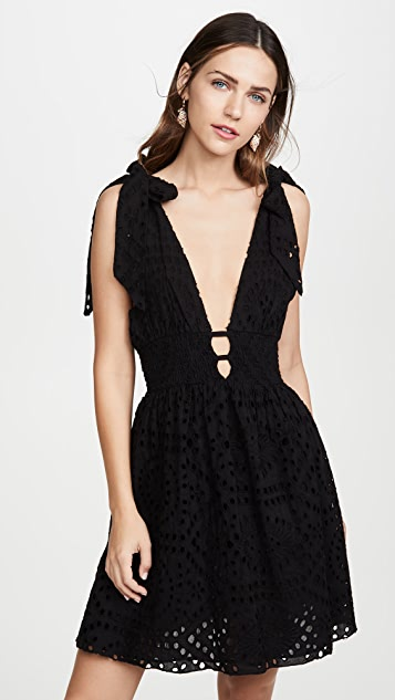 Kos Resort Eyelet Dress