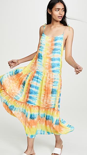 Kos Resort Tie Dye Dress