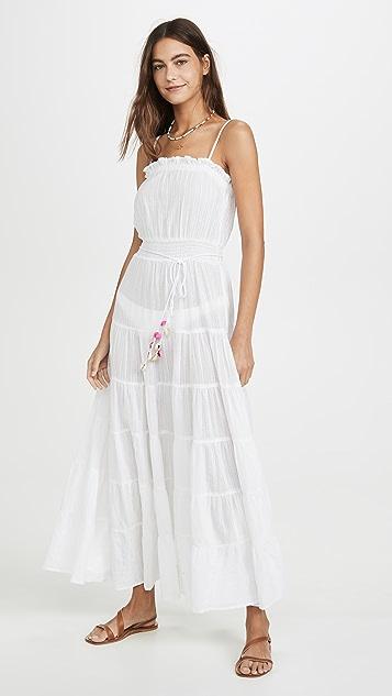 Kos Resort Sleeveless Cover Up Dress