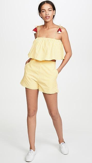 Kos Resort 格子短裤