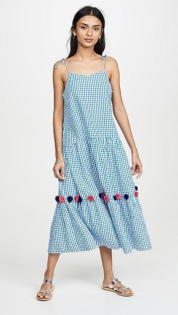 Kos Resort 格子连衣裙