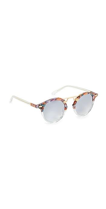 Krewe St. Louis Sunglasses - Confetti/Marine
