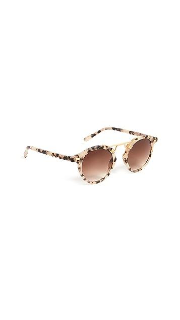 Krewe St. Louis Matte Sunglasses