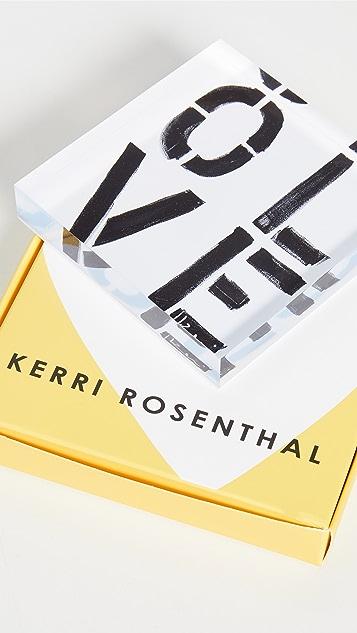 Kerri Rosenthal Olive You Block