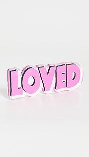Kerri Rosenthal Pop Pink Loved Rock