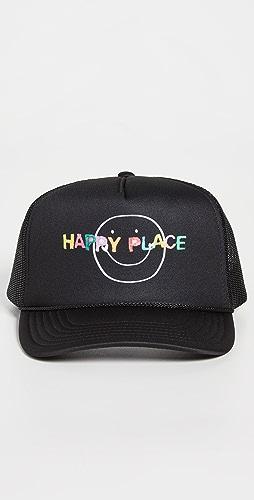 Kerri Rosenthal - Happy Place Trucker Hat