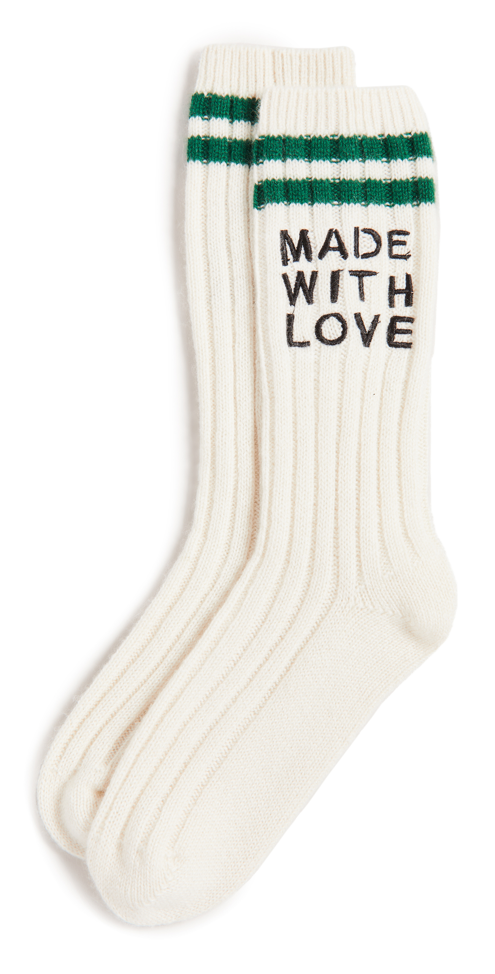 Cashmere Made with Love Good Morning Socks