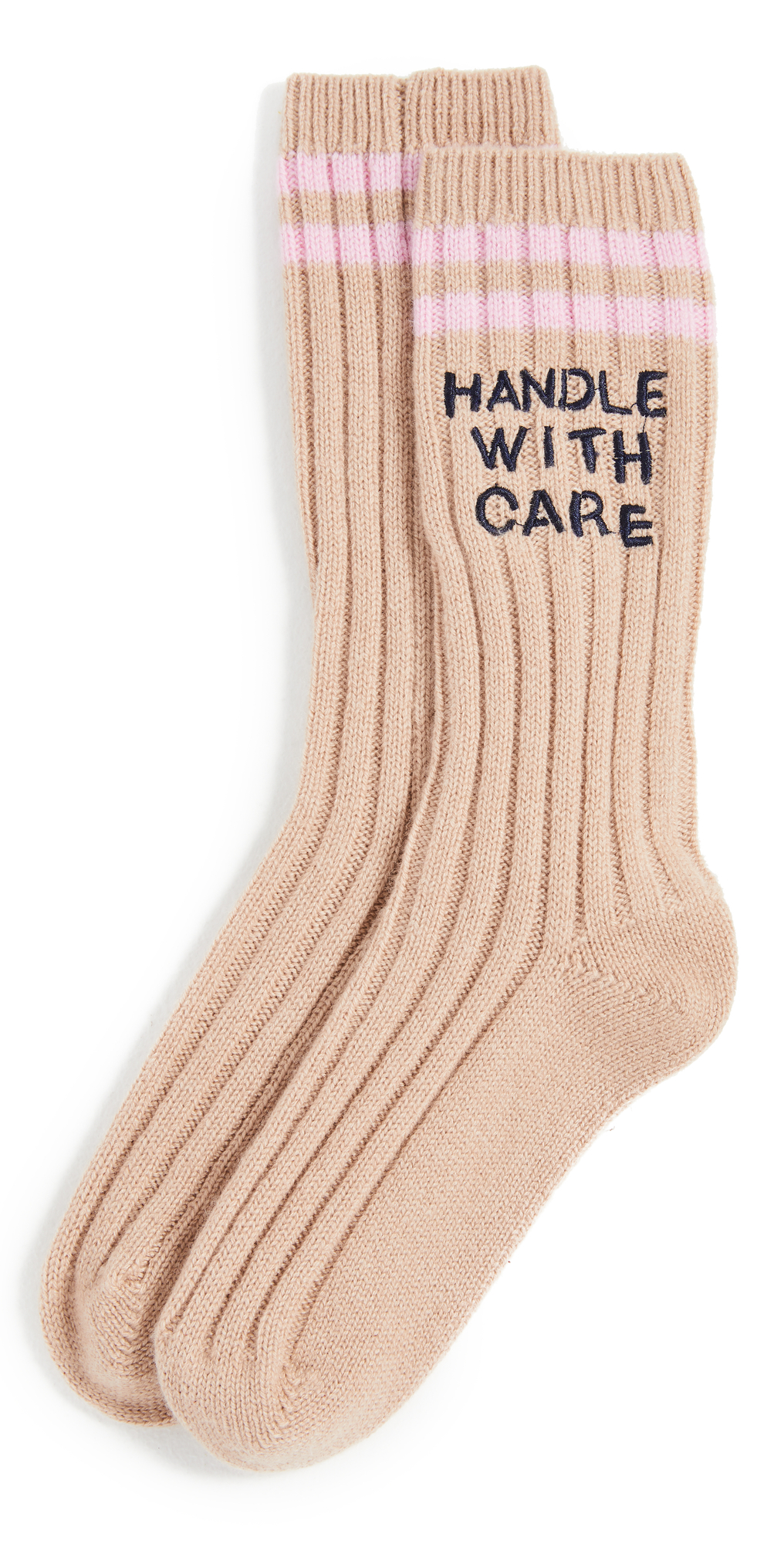 Handle with Care Good Morning Socks
