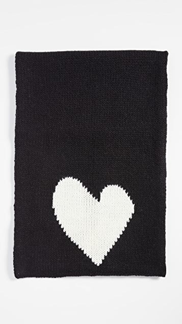 Kerri Rosenthal You Are Loved Chunky Knit Scarf