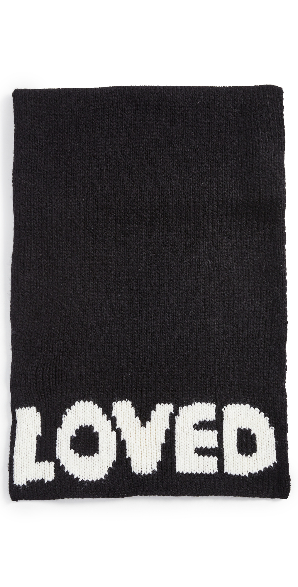 You Are Loved Chunky Knit Scarf