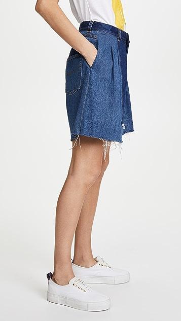 Ksenia Schnaider Vintage Denim Shorts