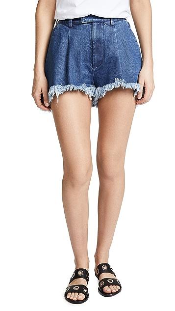 Ksenia Schnaider Fringe Short Shorts