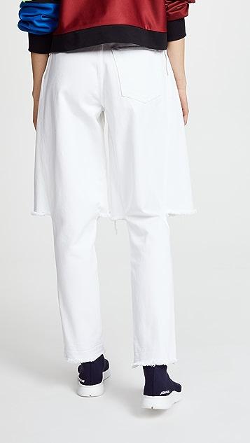 Ksenia Schnaider Demi Jeans