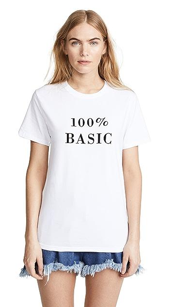 Ksenia Schnaider 100% Basic Tee