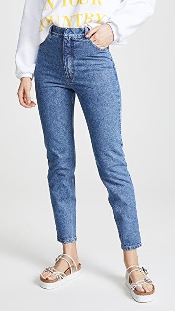 Ksenia Schnaider Mom Jeans