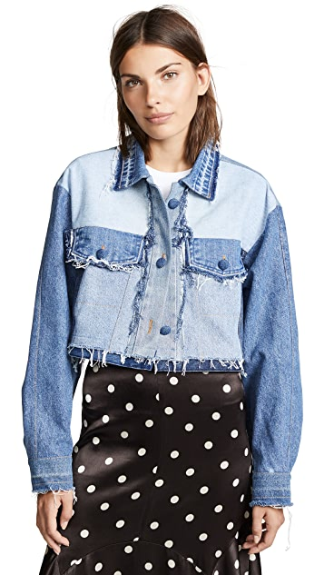 Ksenia Schnaider Reworked Denim Jacket