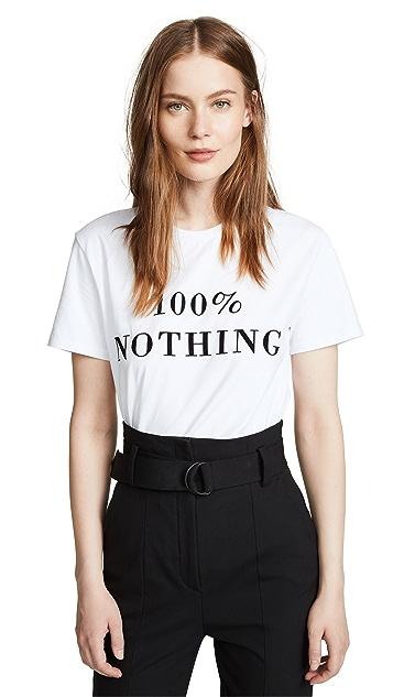 Ksenia Schnaider 100% Nothing Tee