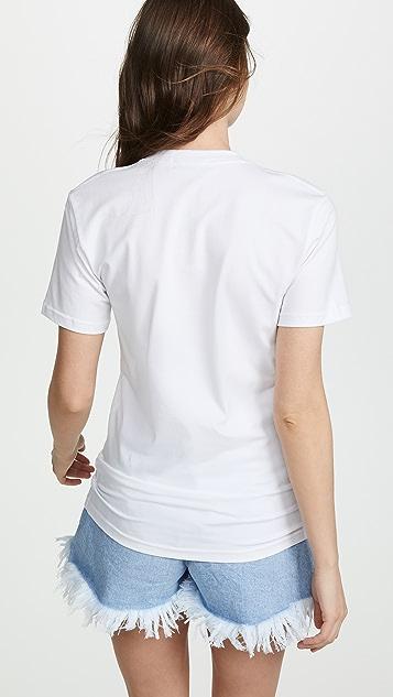 Ksenia Schnaider Ginger Cat Slim T-Shirt