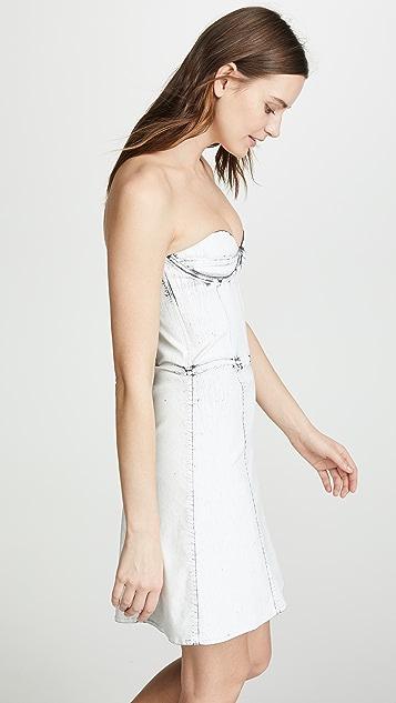 Ksenia Schnaider Платье с корсетом Jeather
