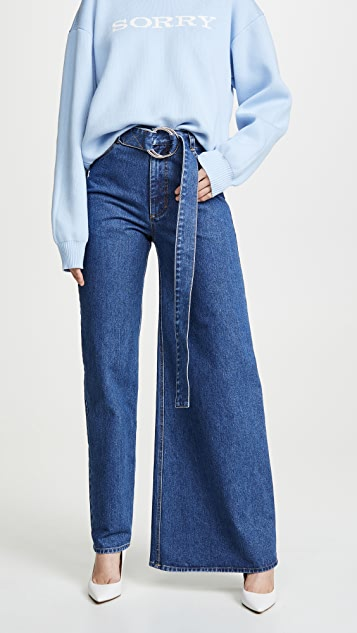 Image result for Asymmetrical jeans
